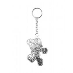 Brelok Mario srebrny