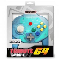 Kontroler Tribute 64 niebieski