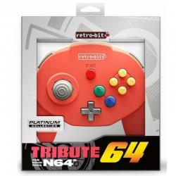 Kontroler Tribute 64 czerwony